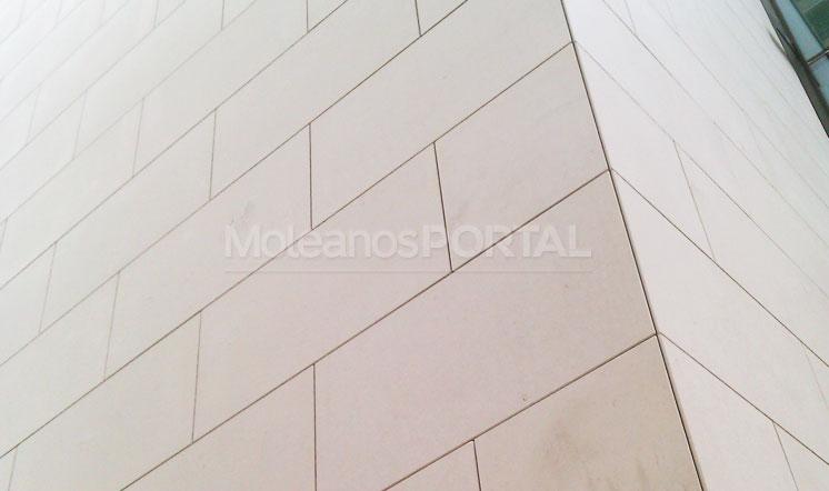 Cabeca Veada limestone cladding
