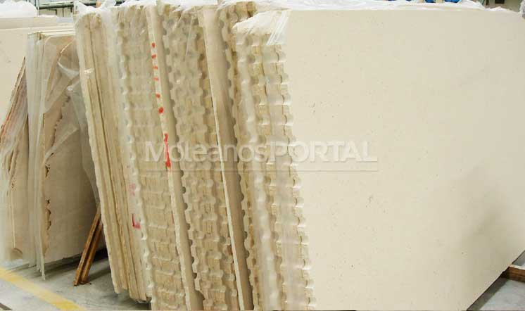 Moleanos Fine limestone slabs