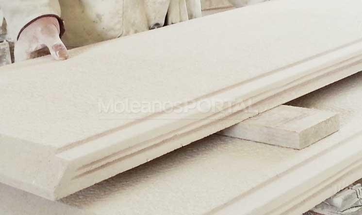 Moleanos Vidraco limestone cut  to size