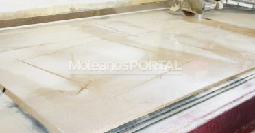 Moleanos limestone cladding production