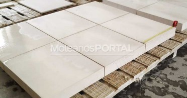 Moleanos limestone cladding cutting