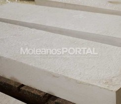 Moleanos limestone flaming
