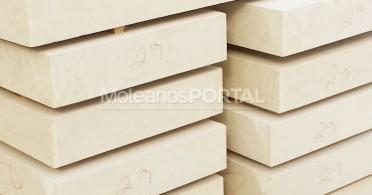 Moleanos limestone cut to size