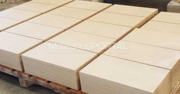Limestone tiles production
