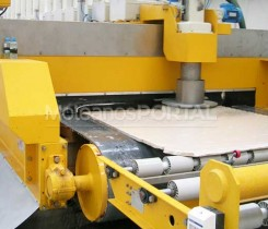 Limestone slabs finishing line