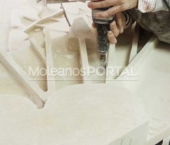 Stonework hand production