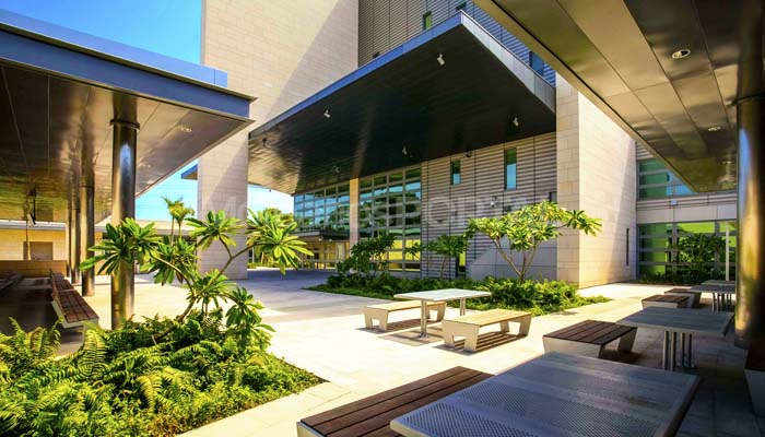 American Embassy in the Dominican Republic - Cabeca Veada Exterior Flooring Coverings