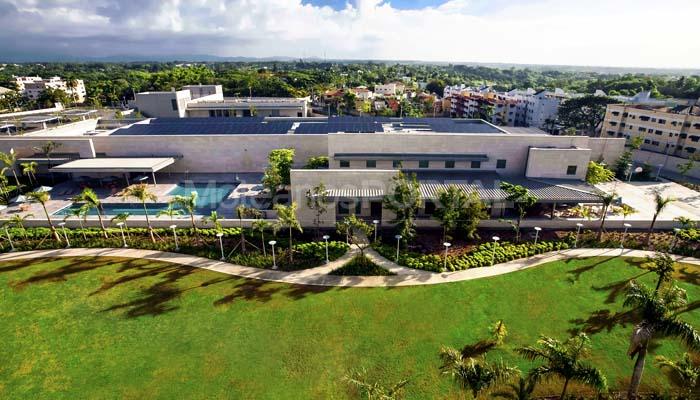 American Embassy in the Dominican Republic - Cabeca Veada Exterior Cladding Flooring