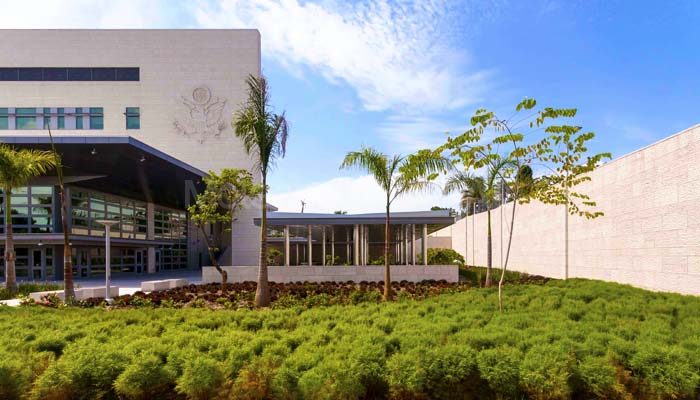 American Embassy in the Dominican Republic - Cabeca Veada Exterior Cladding